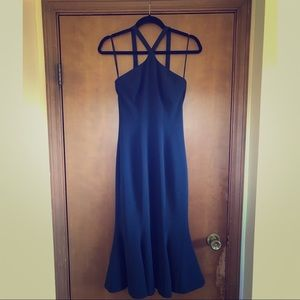 Dress the Population Navy Tessa Mermaid Dress S